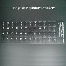 100pcs EN English Notebook Keyboard Stickers For Macbook Air Pro Retina 11 13 15 Laptop Notbook Keyboard Cover Protector Sticker