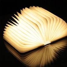 Excelvan LED Booklight&LED Folding Book Lamp,Novelty Book Style LED Night Light Christmas Gift Light for Desk/Table/Wall Decor