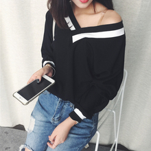 Buy T Shirt Women Clothes 2017 Striped Tshirt Long Sleeve Tops Womens Clothing T-Shirts Easy Casual Tee Shirt Femme Poleras Mujer for $8.91 in AliExpress store