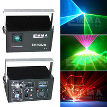mini 3w rgb full color graphic laser 3d/laser image show / laser advertising projector(China)
