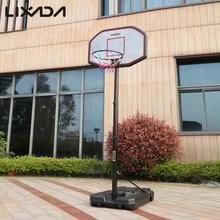 Lixada Youth Basketball Hoop System Basketball Stands Court Portable 2.0-3.05m Adjustable Height Backboard Steel Tube