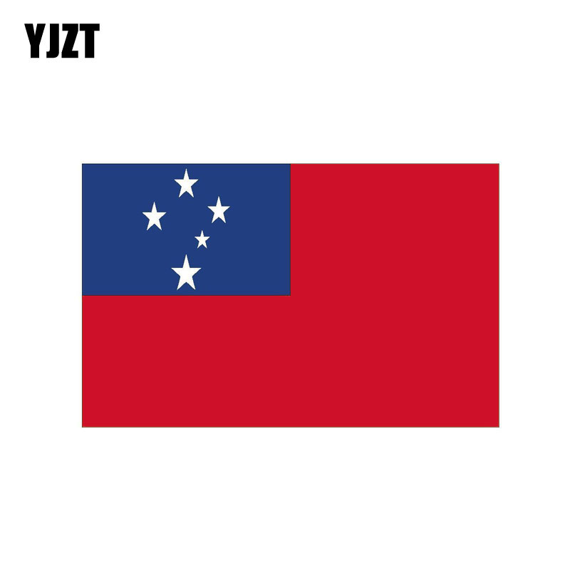 Wholesale Lot 6 Chad Country Flag Reflective Decal Bumper Sticker