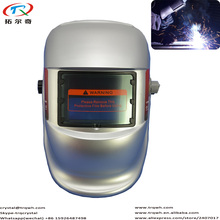 Pure Silver Painting Welding Helmet Free Shipping with Design Confortable Headhold Welder Best Choose Factory Price Hot Sale TRQ(China)