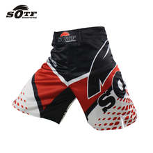 SOTF boxing sports fitness training loose large size breathable from design shorts boxing shorts muay thai shorts mma shorts