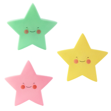 LED Night Light for Children Indoor Lighting Cute Star Light Lovely Kids Present Warm White Safe Lamp for Baby Included Battery