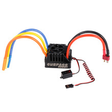 80A Brushless ESC 6V 3A BEC with Programming Card for 1/10 RC Short Course Monster Truck On-Road Car Accessories(China)