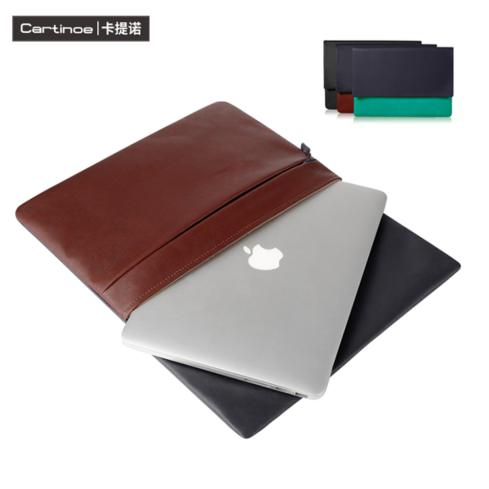 2016 Fashion Pu Leather Laptop Case 11 12 13 Laptop Sleeve Notebook Bag for Macbook Air Case for iPad Pro 12.9, Surface Pro 4 3<br><br>Aliexpress