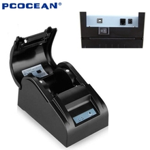 58mm Thermal Receipt Printer,USB port Mini Protable thermal printer For restaurant supermarket Ticket POS Printer