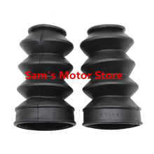 XL883/1200N/C/L X48 Boot Rubber Dust Cover Motorcycle Shock Absorber Sleeve