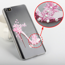Diamond 3D Bling Case High Quality For XiaoMi M5 Case Cover for XiaoMi Mi5 Case Fashion Rhinestone Cover For XiaoMi Mi 5 Cover(China)
