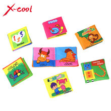 XC1355 Baby's First Book cloth baby book Mini Learning mat  Early Learning Educatinoal Toys for kids Free shipping
