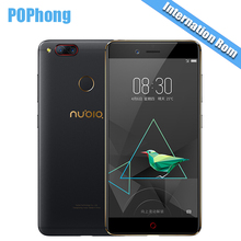 "International Firmware Nubia Z17 Mini Two Back Camera Smartphone 4/6GB RAM 64GB ROM 5.2"" Snapdragon 652 MSM8976 Dual SIM Cards S(China)"
