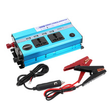 500W Car Power Inverter DC 12V to AC 110V 60Hz with 4 USB Ports / 2 AC Outlets Car Charger for Mobile Phone Cigarette Lighter(China)