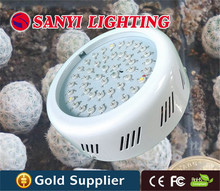 Agricultural led grow lights 45w ufo led grow lamp 10bands for indoor hydroponics free shipping(China)