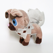 "Free Shipping New Rockruff 7"" Anime Cartoon For Kids Soft Party Gifts Plush Doll Figure(China)"