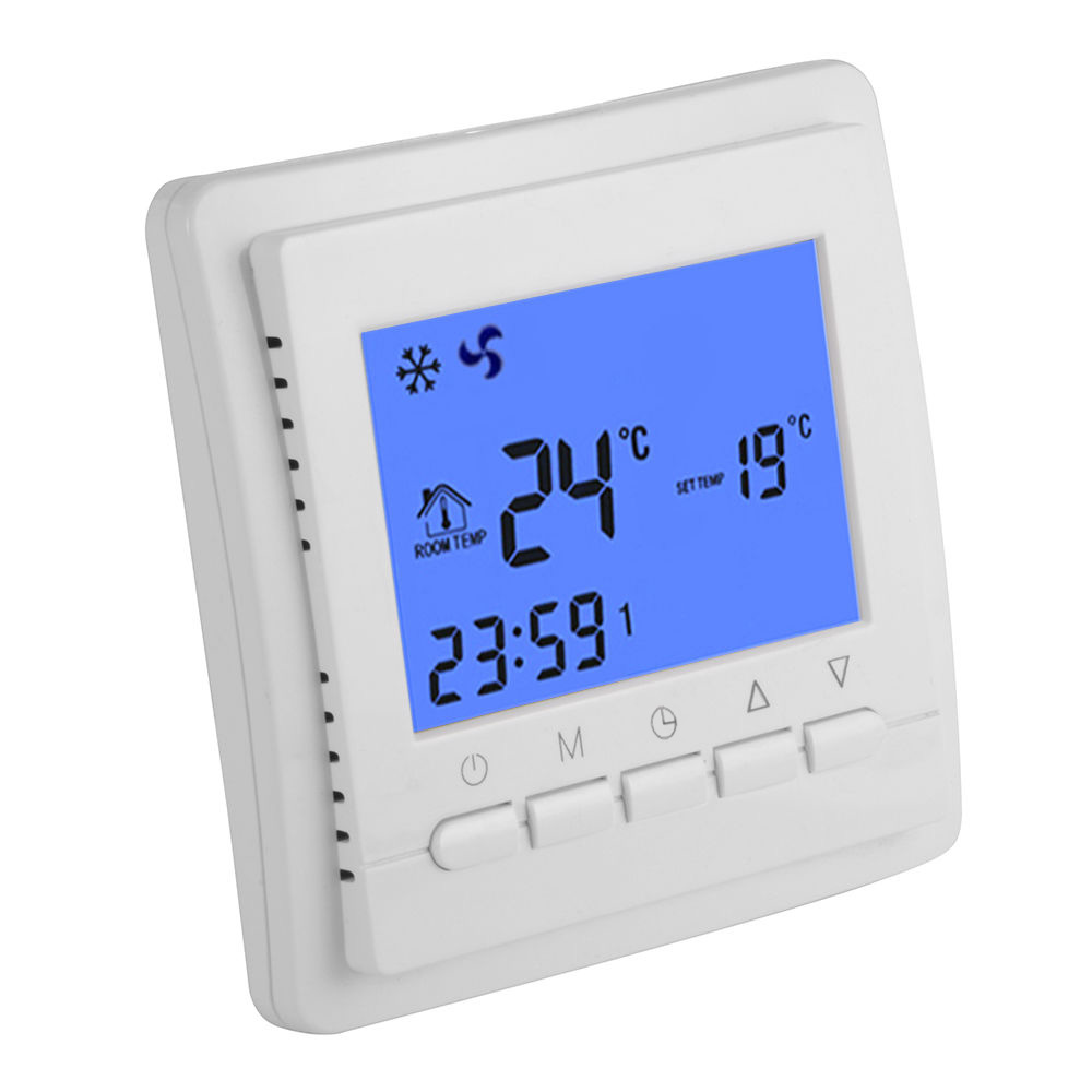 Digital Electronic Room Thermostat as Infrared Heater controller 16A 200-240V<br>