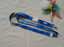 custom personlized  logo print logo neck lanyards  wholesale Navy Blue Quick Released ID card holder lanyards neck strap