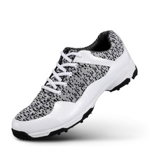 Men Golf Shoes Light Weight Breathable Athletic Shoes Men Outdoor Trainers Size Eu 39-45 AA10106