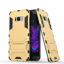 PC+PU Hybrid Cell Phone Cases For Samsung Galaxy S8 Plus S8+ SM-G955 Military Armor Bags Hood For Samsung Galaxy S8 Plus Case