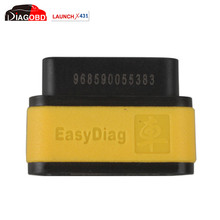 Launch X431 EasyDiag Plus 2.0 OBDII Code Reader for iOS/Android with Two Free Car Software