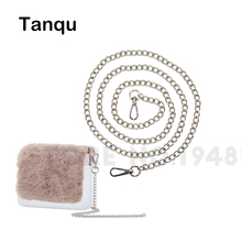 TANQU New Golden Silvery Shoulder Chain Straps for O Pocket O Bag metal strap chain for EVA Obag Opocket Bucket Basket