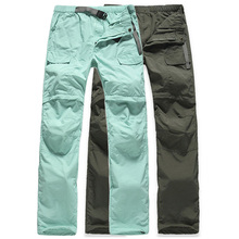 Buy Women's Removable Breathable Quick Dry Outdoor Hiking Pants Women Trekking Sport Trousers Army Summer Camping Short Pants,AW031 for $15.99 in AliExpress store