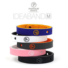 Power Ionics Kids Boy Girl Bio Sports IDEDBAND Titanium 2000ioncs Healthy MINI Wristband Bracelet Band Balance(China)