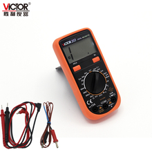 victor Resistance Thermometer Tester AD DV Volt Amp Ohm Diode Meter Multimeter VC203 dcA 10a