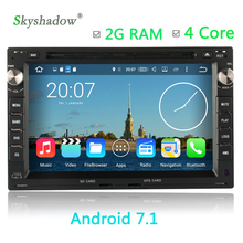 Android 7.1 Car multimedia DVD Player 4 Core GPS Map For VW SHARAN JETTA LUPO SEAT ALHAMBRA LEON 2G RAM 16G ROM Radio OBD WIFI(China)
