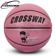 CROSSWAY New Brand 540 Basketball Ball PU Leather A+++ Quality Basketball Official Size 5&Weight Basketball Free Needle&Net(China)