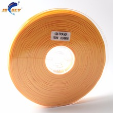 Free Shipping 150m 300LB 140KG 0.95MM 1MM 12Strand UHMWPE Spectra Hollow Braid Rope Fishing Line Orange Color 150M Spool