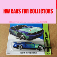 Hot Wheels 1:64 Custom 12 Fod Mustang Car Models Metal Diecast Cars Collection Kids Toys Vehicle For Children Juguetes(China)