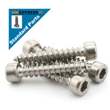 HWEXPRESS 304 stainless steel hexagonal self-tapping screws M4*14