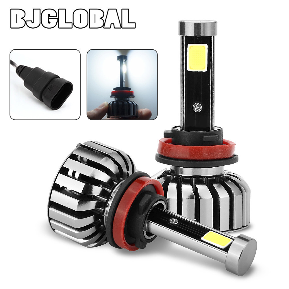 2017 New LED Headlight N7 series 80W 6000K 8000LM White Fog Lamp Bulb H4 H13 H7 H11 H13 9005 9006 car-styling<br>