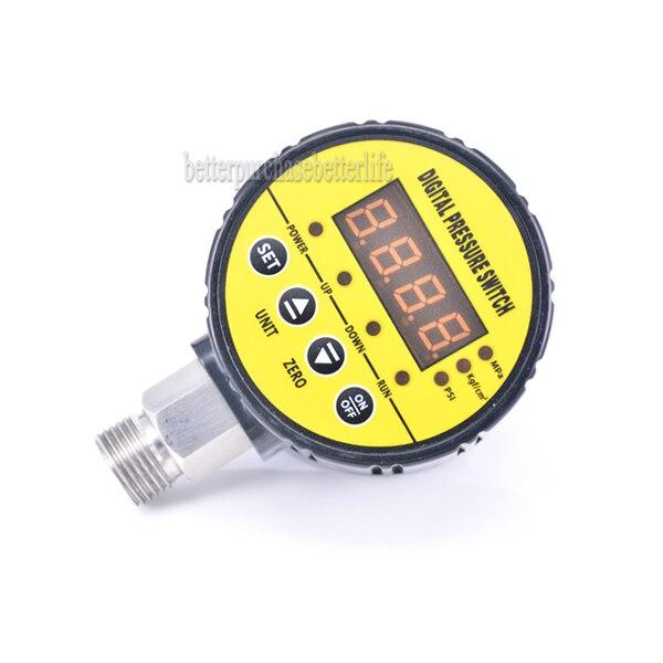 0-16bar(232psi) 240VAC G1/2 Water Pump Air Compressor Intelligent Digital Pressure Switch <br>