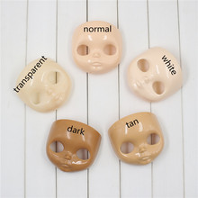 For blyth Doll For 1/6 doll FacePlate DIY selling 5 PCS faceplate and backplate and screws(China)