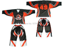 Wholesale custom team men ice hockey pants(China)