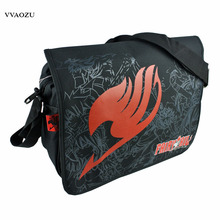 Japan Anime Fairy Tail School Bag for Teenagers Cartoon Students Travel Bags Single Shoulder Bag Schoolbag Free Shipping