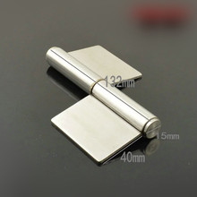 Stainless steel flag no hole hinge Fire door hinge(China)