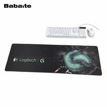 Babaite Logitech Large High Quality Gaming Mouse Pad Edge Overlock keyboard Mouse mat  Computer Games For League Of Legends Dota