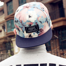 2017 fashion new floral adjustable spring summer cap baseball hats for men and women sun-shading hip hop baseball caps