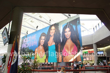 Large Format Dye Sublimation Fabric Backdrop Banner Signage