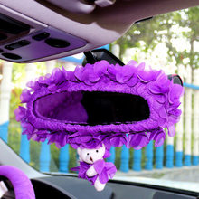 OHANNY Fashion Cartoon Lace girls car rearview mirror sets covers  for women auto interior car-styling styling accessories