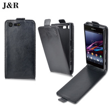 Buy J&R Sony Xperia X Compact Case Flip Leather Back Cover Sony Xperia X Compact F5321 4.6 Inch Vertical Magnetic Phone Case for $4.49 in AliExpress store