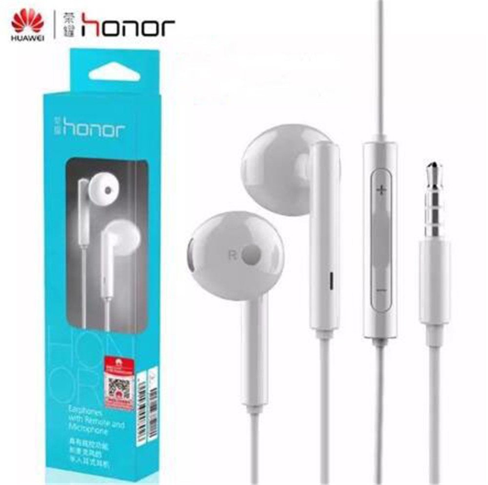 100% original earphones Honor AM115 stereo in-ear Earbuds With Mic noise canceling For Huawei 7i 6 plus 4c x2  with retail box<br><br>Aliexpress