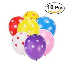 10pcs 12-Inch Latex Balloons Printed Balloon Wedding Baloons Birthday Balloons Balls Child Toys Gifts For Party Decoration