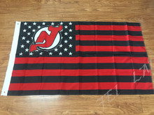 New Jerseys Devils USA star stripe NHL Premium Team Hockey Flag 3X5FT