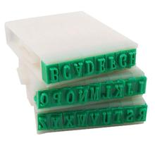 Nice Price!  Detachable 26-Letters English Alphabet Plastic Stamp Set