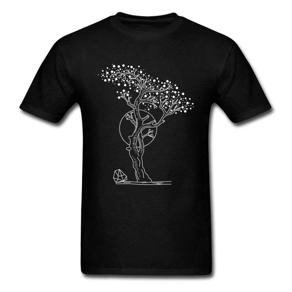 Pointilism Tree Life_black