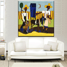 xh2230  william h johnson harlem renaissance canvas paintings modern abstract canvas art prints wall art paintings unframed